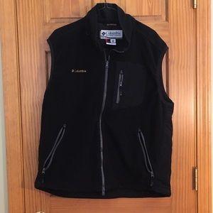 Men's Columbia Titanium fleece vest